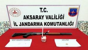 Aksaray'da uyuşturucu operasyonunda 3 gözaltı!