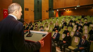 Bayburt'ta afet riski azaltma planı toplantısı