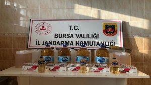 Bursa İnegöl'de kaçak içki operasyonu