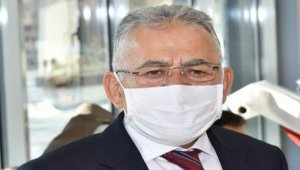 Kayseri'de Büyükkılıç'tan 'mezarlık' açıklaması
