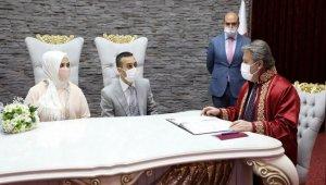 Kayseri Melikgazi'de nikahta '21' yoğunluğu