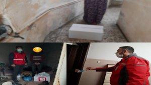 Kilis Kızılay'dan ihtiyaç sahiplerine gıda yardımı