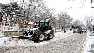 Malatya Belediyesi'nden kar seferberliği