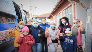 Pamukkale Belediyesi'nden 'Çocukları ısıt' projesi