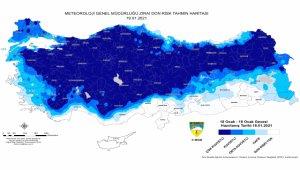 Tarımsal faaliyetler için 'zirai don' uyarısı