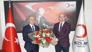 Türk Kızılayı Bursa'da görev değişimi