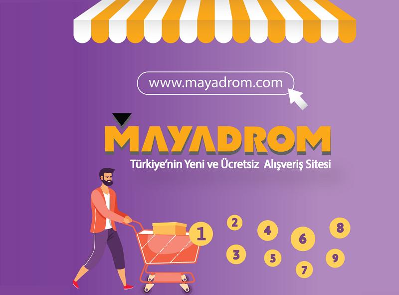 Türkiye'nin Yeni İlan Sitesi MAYADROM.COM Açıldı