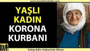 Yaşlı Kadın Covid-19 kurbanı