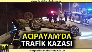 Acıpayam'da trafik kazası