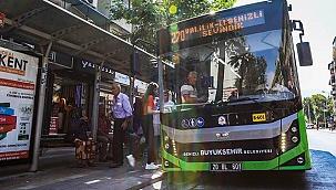 Büyükşehir'in 11 otobüs hattı ALES için çalışacak