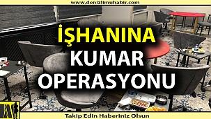 Denizli'de dev kumarhane operasyonu