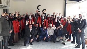 MHP Denizli Teşkilatına 30 yeni kadın üye katıldı