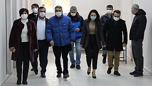Rektör Kutluhan Çal MYO'nun İhtiyaçlarını Yerinde Tespit Etti