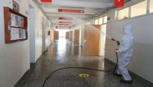 Denizli Pamukkale'deki okullarda 1 Mart temizliği