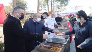 Mardin'de Gara şehidine lokma hayrı yapıldı
