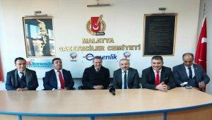 TDP lideri Sarıgül'den MGC'ye ziyaret
