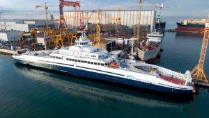 Türk yapımı dünyanın en büyük elektrikli feribotu Norveç sularında