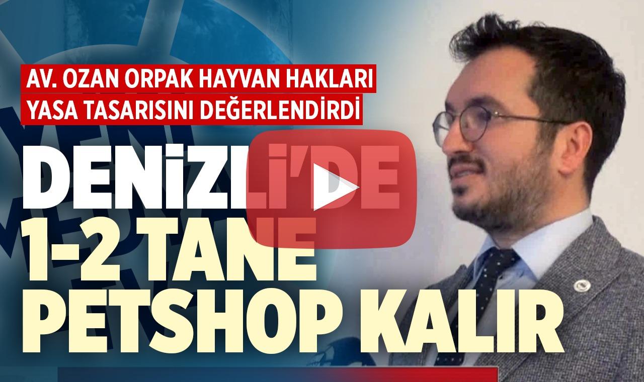 Av. Ozan Orpak'tan Hayvan Hakları Yasa Tasarısı hakkında çarpıcı açıklamalar