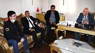 BBP'den Başkan Şevik'e ziyaret