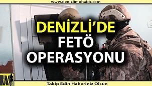 Denizli'de FETÖ'nün askeri yapılanmasına operasyon