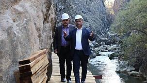 Kısık Kanyonu'nda 9 bin yıllık tarihin izleri gün yüzüne çıkıyor