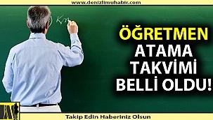Öğretmen adaylarına müjde! Atama takvimi açıklandı