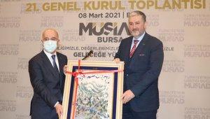MÜSİAD Bursa'da Nihat Alpay güven tazeledi