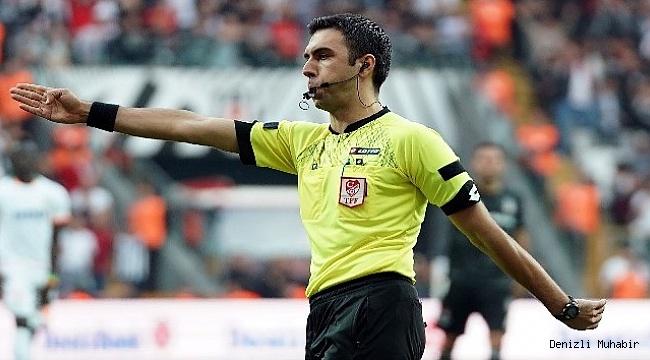 Yukatel Denizlispor – Yeni Malatyaspor maçının hakemi belli oldu