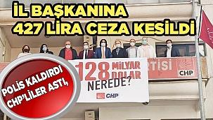 CHP, indirilen afişleri bugün yeniden astı