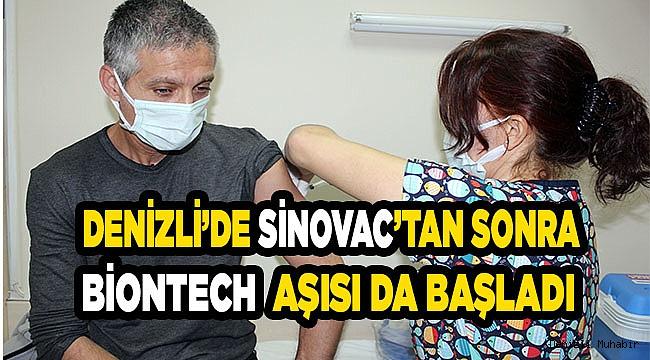Denizli'de yürütülen aşı çalışmaları devam ediyor