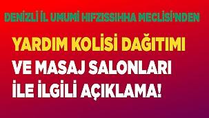 DENİZLİ İL UMUMİ HIFZISSIHHA MECLİS KARARI