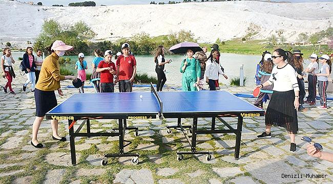 'Dünya Masa Tenisi Günü' Pamukkale'de kutlanacak