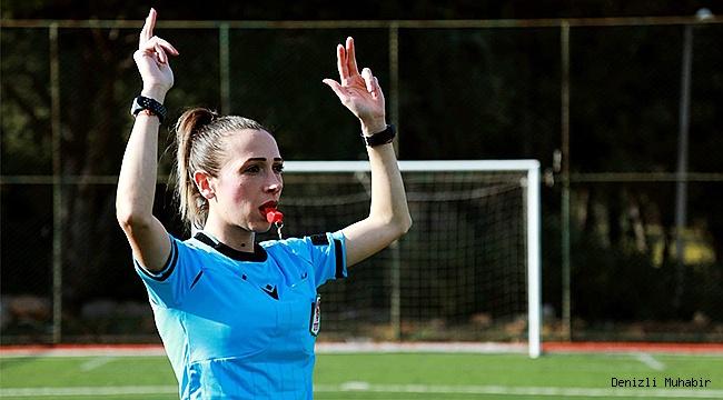Kadın Futbol Ligi'nde Denizli'den Şeyma Haşlak düdük çalacak
