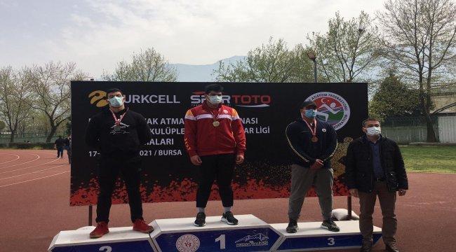 Osmangazi Belediyesi atleti gümüşü kaptı