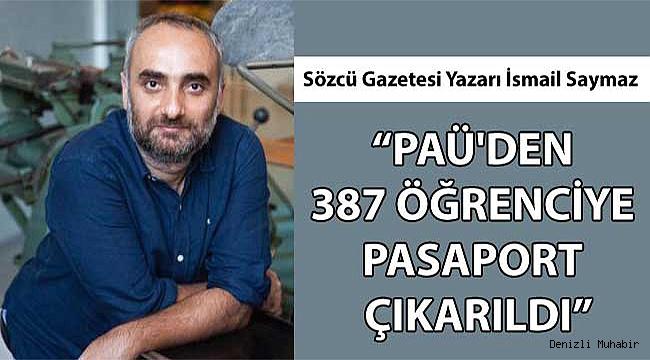 PAÜ'den 387 öğrenciye pasaport çıkarılmış