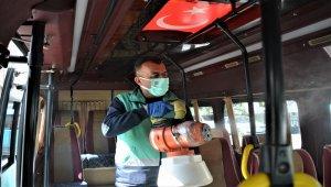 İzmir Aliağa'da dezenfekte çalışmaları sürüyor