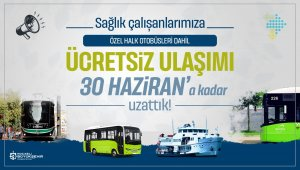 Kocaeli'nde sağlıkçılara ücretsiz ulaşım 30 Haziran'a uzadı