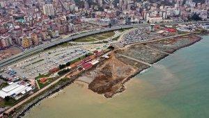 Rize'ye deniz dolgulu 'Millet Bahçesi'
