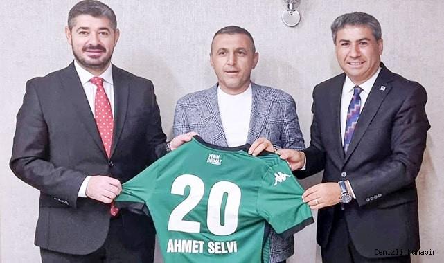 Altaş Denizlispor'a destekler sürüyor