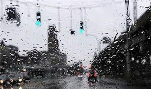 Denizli, bugün sağanak yağmurlu