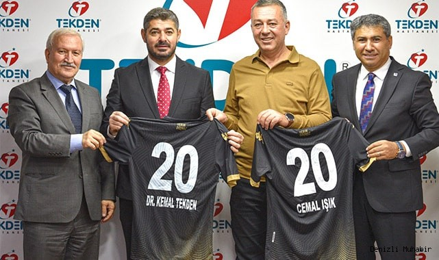 Tekden, Altaş Denizlispor'un resmi sağlık sponsoru oldu