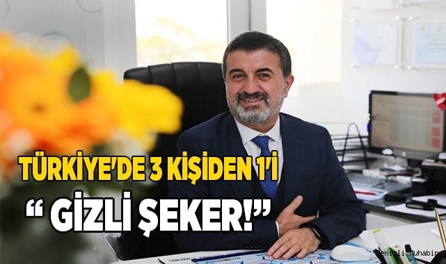 """TÜRKİYE'DE 3 KİŞİDEN 1'İ BU HASTALIĞA SAHİP """" GİZLİ ŞEKER!"""""""