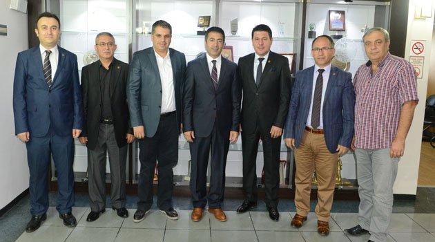 Başkan Erdoğan'ı, Denizli Gazeteciler Cemiyeti ziyaret etti