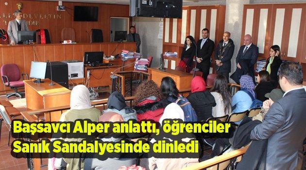 """Başsavcı Mustafa Alper """"Yargı sistemini anlattı"""""""