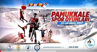 Pamukkale Spor Oyunları başlıyor
