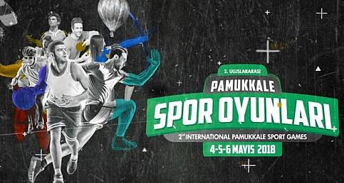 2. Uluslararası Pamukkale Spor Oyunları başlıyor