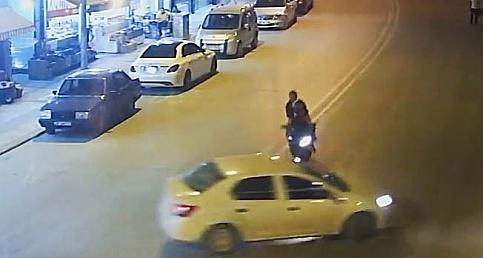 Denizli'de yaşanan trafik kazaları anbean görüntülendi